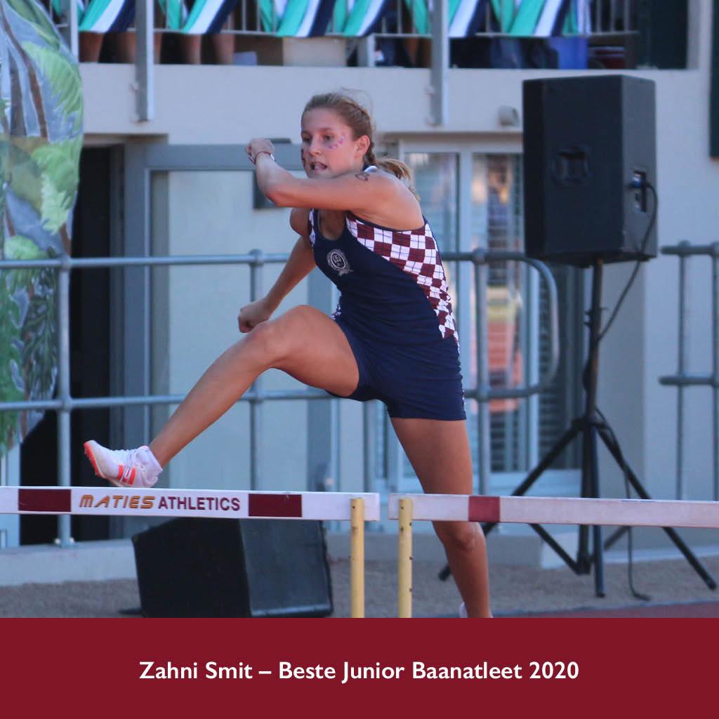 Somersporttoekennings 2020 Zahni Smit foto Leon Piron